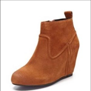 DV by Dolce Vita Suede Wedge Bootie